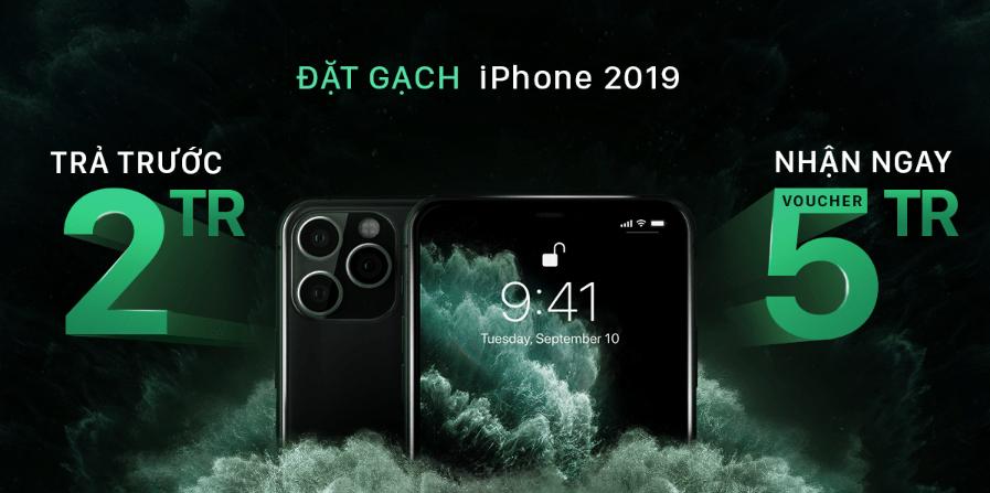 Đặt gạch iPhone 2019 trên Shopee