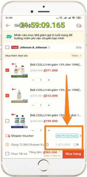 Cách săn mã giảm giá Shopee nhanh