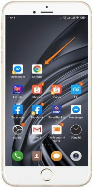 Cách xem ngành hàng của sản phẩm Shopee trên điện thoại