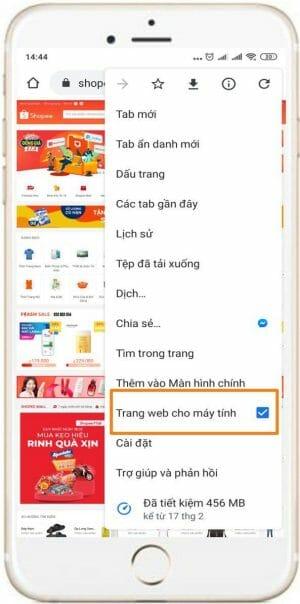 Cách xem sản phẩm Shopee thuộc ngành hàng gì bằng điện thoại