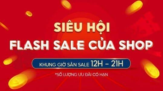 Flash sale của Shop