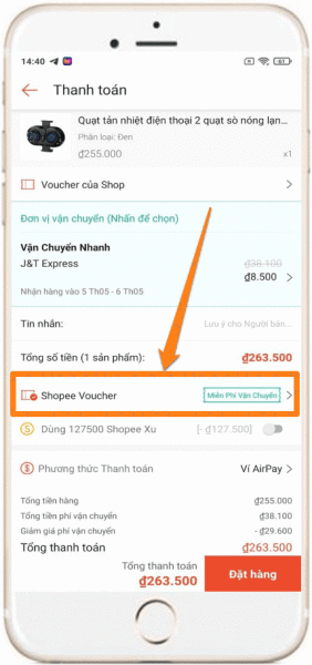 Dùng Auto Click săn mã livestream Shopee