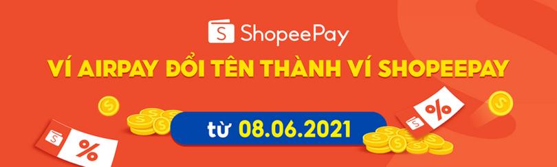 Ví Airpay đổi tên thành ví ShopeePay