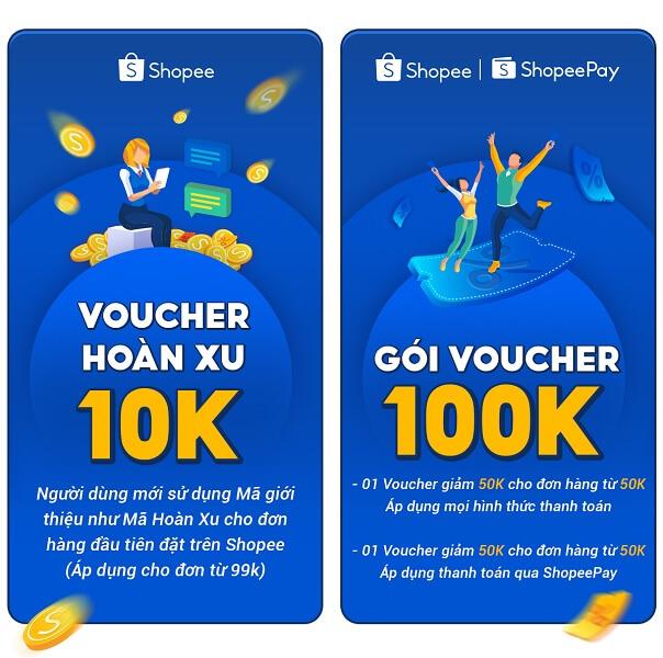 Giới thiệu tài khoản Shopee mới, nhận ngay 20K Shopee xu